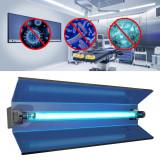Cumpara ieftin Lampa bactericida orientabila, tub UVC 15W, reflector, fixare perete, IP20