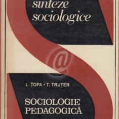 Sociologie pedagogica