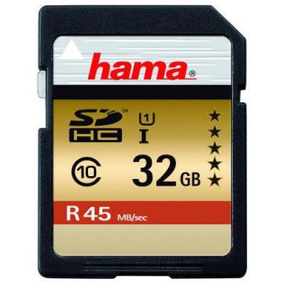 Card Hama SDHC 32GB clasa 10 foto