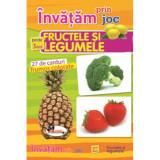 Invatam prin joc fructele si legumele +3ani, editia a II-a. Carti de joc educative