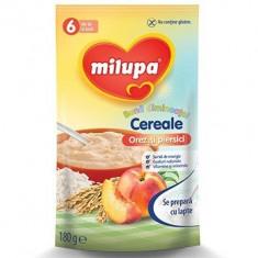 Cereale Milupa Buna Dimineata cu orez si piersici, 180g