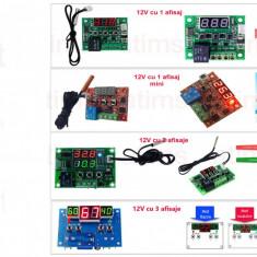 Termostat electronic 12V, Digital