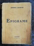 EPIGRAME - IONESCU QUINTUS