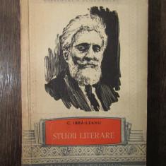 STUDII LITERARE -GARABET IBRAILEANU