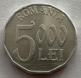 5000 Lei 2003 Aluminiu, Romania, a UNC/UNC, Luciu de batere