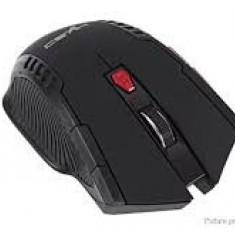 Mouse wireless optic HXSJ X20 2400DPI  pentru jocuri 2.4GHz,nou,negru