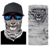 Cagula Masca 3D Funny puppy catel tigru Bandana  Skull Ghost Motor Ski Snowboard