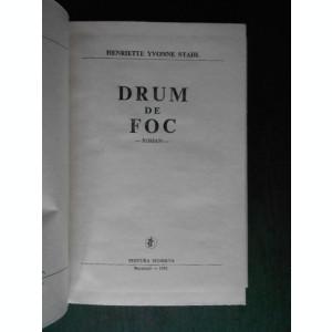 HENRIETTE YVONNE STAHL - DRUM DE FOC  (1981, editie cartonata)
