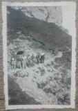 Drumeti pe Braul Caraimanului, Sinaia 1938// fotografie