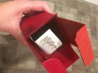 CLAUDE Montana rosu -VINTAGE parfum after shave 75 ml- France vintage D'Homme foto