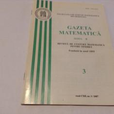 GAZETA MATEMATICA NR 3 /2007--RF13/0