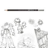 Set creioane HB Carioca, 12 buc cutie