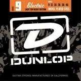 Corzi chitara electrica Dunlop Nickel Plated Steel Light Top Heavy Bottom 9-46