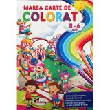Marea carte de colorat 5-6 ani  , Aramis
