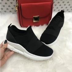 Pantofi sport dama negri marime 36, 38, 39, 40, 41+CADOU, Din imagine