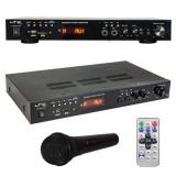 Amplificator 5.0 2x30w + 3x20w, bluetooth/usb/sd/fm