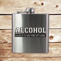 Plosca - Alcohol Hip Flask   50 Fifty Gifts