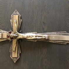 Cruce veche franceza din bronz