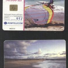 Romania 2001 Telephone card Surfer Rom 110a CT.048