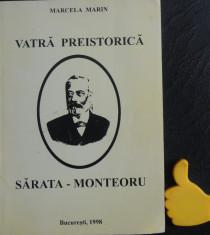 Vatra preistorica Sarata-Monteoru Marcela Marin foto