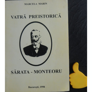 Vatra preistorica Sarata-Monteoru Marcela Marin