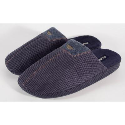 Papuci de casa bleumarini pentru barbati/barbatesti (cod 192-31346) foto