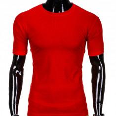 Tricou barbati, bumbac - S970-rosu