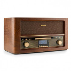 Auna Belle Epoque 1906 DAB sisteme stereo retro DAB + USB Bluetooth CD MP3 FM