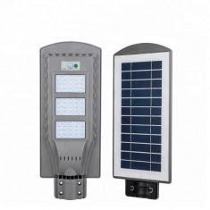 Cumpara ieftin Lampa stradala 60w proiector panou solar senzor miscare lumina