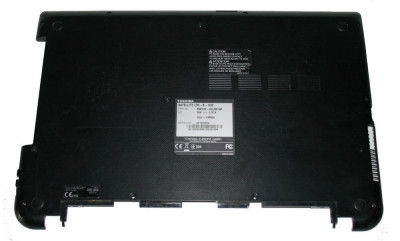 Carcasa inferioara bottom case Toshiba Satellite A000300770 negru SH foto
