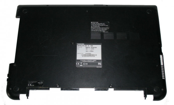 Carcasa inferioara bottom case Toshiba Satellite A000300770 negru SH