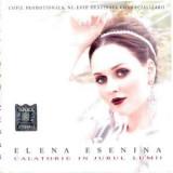 CD Elena Esenina / Various –Calatorie In Jurul Lumii / Colinde Celebre,original