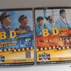 Filmele Adevarul -Colectia Brigada vesela - B.D.la munte si la  ,B.D.in alerta