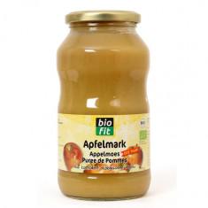 Bio Fit Piure de mere fara zahar adaugat, 700 g