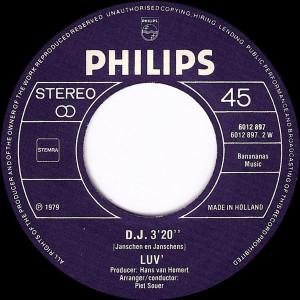 Luv' - Casanova (1979, Philips) disc vinil single 7