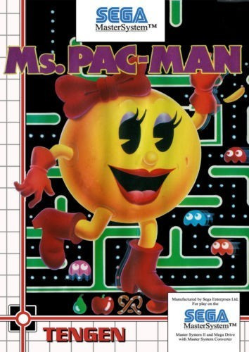 Joc SEGA Master System Ms Pac - man