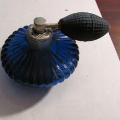 PVM - Sticla veche parfum completa si functionala cu pompita si atomizor