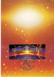 MISIUNEA PLANETA PAMANT MAXICARD ELVETIA FDC 1992, Spatiu
