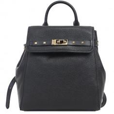 Addison Medium Pebbled Leather Backpack