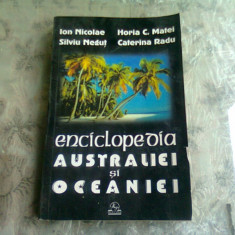 ENCICLOPEDIA AUSTRALIEI SI OCEANEI DE ION NICOLAE,SILVIU NEGUT,HORIA C.MATEI,CATERINA RADU