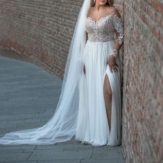 Rochie de mireasa + voal CADOU