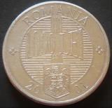 Moneda 1000 LEI - ROMANIA, anul 2001    *cod 3189, Aluminiu