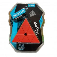 Cub rubik Moyu Pyraminx MeiLong Jinzita Spedcube Version, 74mm, Stickerless