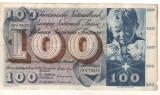 SV * Elvetia  100  FRANKEN  /  CENT FRANCS  /  CENTO FRANCHI  1961 - 1965