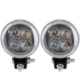 Proiector LED EVO 12W SPOT cu Angel Eyes Epistar 12/24V,6000k, Oem