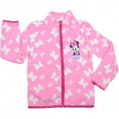 Hanorac din polar pentru fetite Disney Minnie Mouse PH1471R, Roz