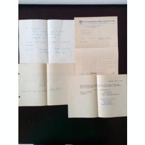 Jurnal carte de familie Germania RDG vechi vintage limba germana acte documente