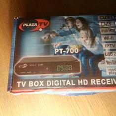 DVB-C & DVB T/T2 Plaza TV-Box digital HD Receiver