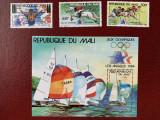 Mali - Timbre sport, jocurile olimpice 1984, nestampilate MNH, Nestampilat