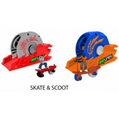 Amplifiers,skateboard/trotineta&lansator foto